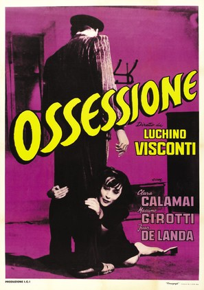 Ossessione - Italian Movie Poster (thumbnail)