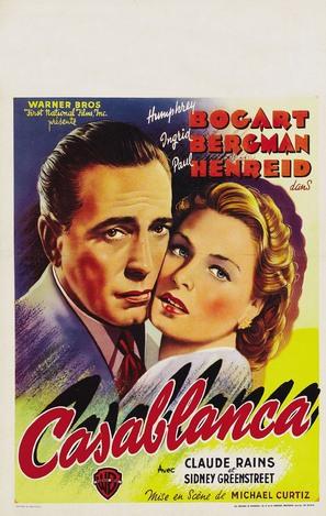 Casablanca - Belgian Movie Poster (thumbnail)