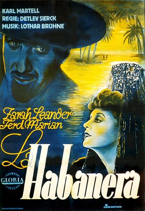 La Habanera - German Movie Poster (thumbnail)