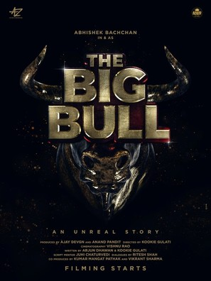 The big bull - Indian Movie Poster (thumbnail)