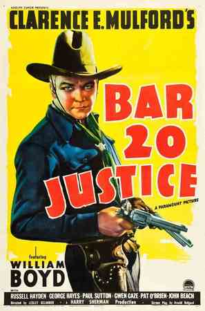 Bar 20 Justice - Movie Poster (thumbnail)