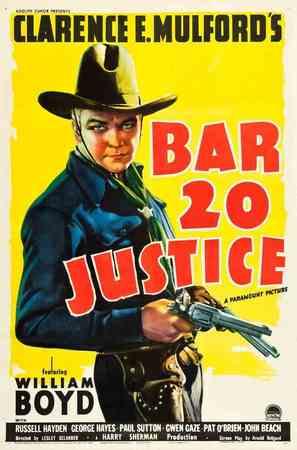 Bar 20 Justice - Movie Poster (thumbnail)