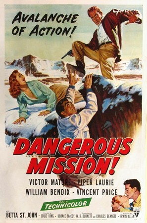 Dangerous Mission - Movie Poster (thumbnail)
