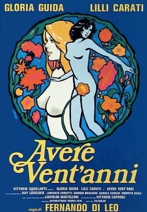 Avere vent'anni - Italian Movie Poster (thumbnail)