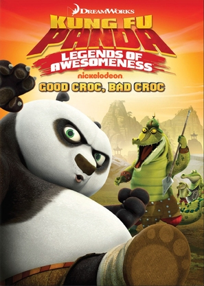 """Kung Fu Panda: Legends of Awesomeness"" - DVD cover (thumbnail)"