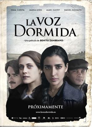 La voz dormida - Spanish Movie Poster (thumbnail)