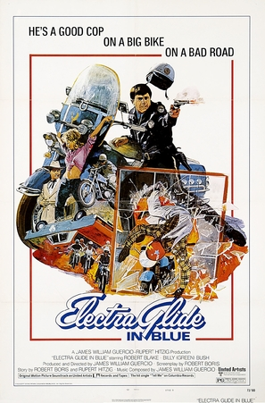 Electra Glide in Blue - Movie Poster (thumbnail)