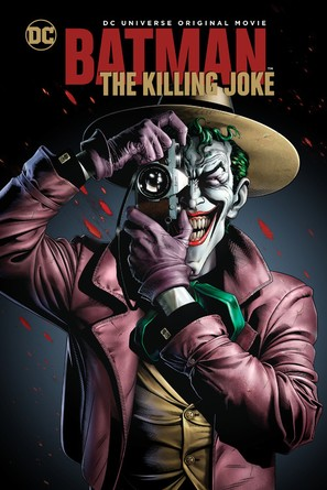 Batman: The Killing Joke - DVD movie cover (thumbnail)