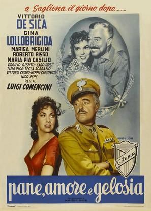 Pane, amore e gelosia - Italian Movie Poster (thumbnail)