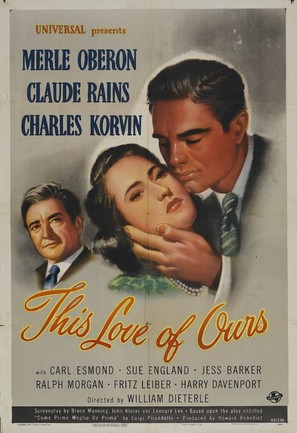 This Love of Ours - Movie Poster (thumbnail)