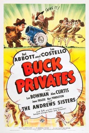 Buck Privates - Movie Poster (thumbnail)