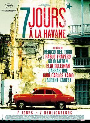 7 días en La Habana - French Movie Poster (thumbnail)