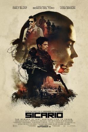 Sicario - Movie Poster (thumbnail)