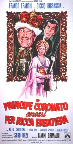 Principe coronato cercasi per ricca ereditiera