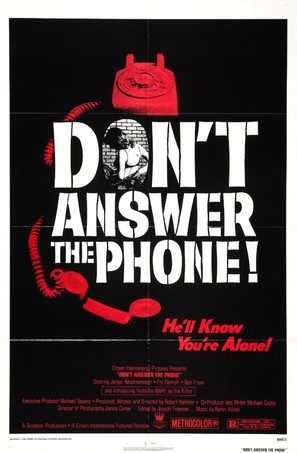 Don't Answer the Phone! - Movie Poster (thumbnail)