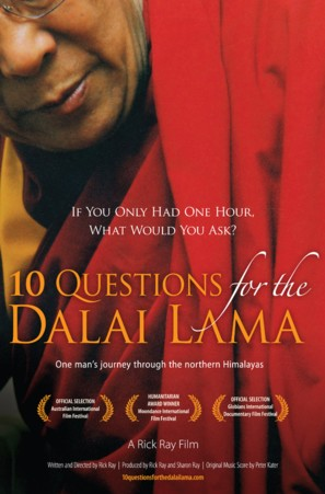 10 Questions for the Dalai Lama - poster (thumbnail)
