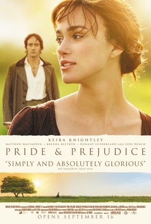 Pride & Prejudice - Theatrical movie poster (thumbnail)
