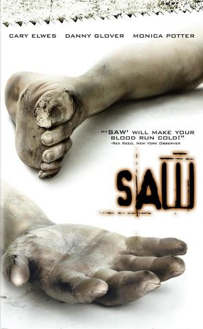 Saw - DVD movie cover (thumbnail)