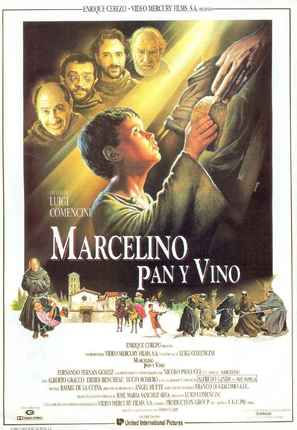 Marcellino - Spanish Movie Poster (thumbnail)