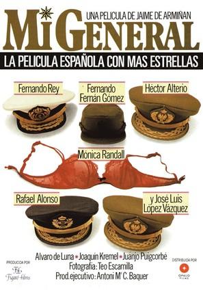 Mi general - Spanish Movie Poster (thumbnail)