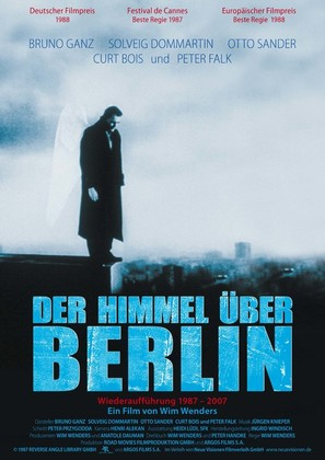 Der Himmel über Berlin - German Movie Poster (thumbnail)