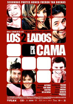 2 lados de la cama, Los - Spanish Movie Poster (thumbnail)