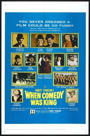 When Comedy Was King - Theatrical poster (thumbnail)