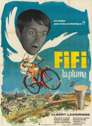 Fifi la plume - French Movie Poster (thumbnail)