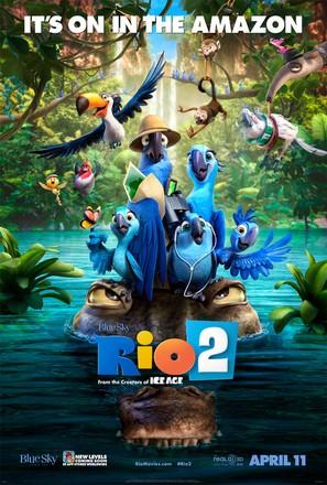 Rio 2 - Movie Poster (thumbnail)