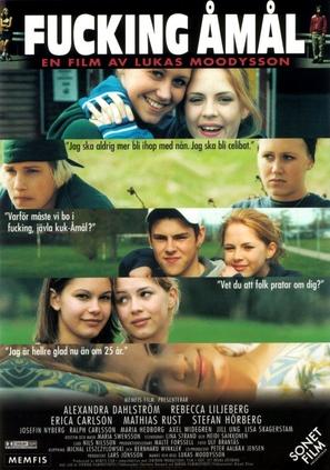 Fucking Åmål - Swedish Movie Poster (thumbnail)