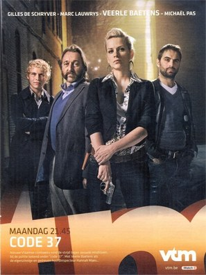 """Code 37"" - Belgian Movie Poster (thumbnail)"