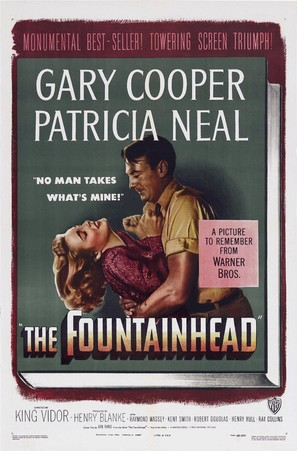 The Fountainhead - Movie Poster (thumbnail)
