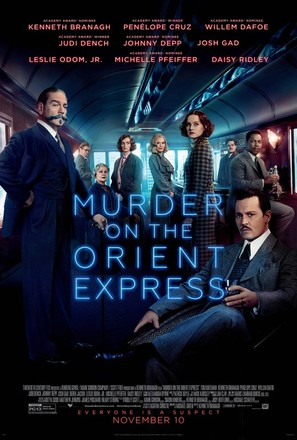 Murder on the Orient Express - Theatrical movie poster (thumbnail)