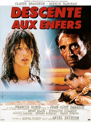 Descente aux enfers - French Movie Poster (thumbnail)