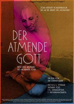Der atmende Gott - Reise zum Ursprung des modernen Yoga - German Movie Poster (thumbnail)