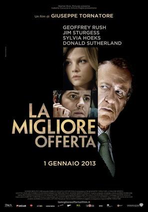 La migliore offerta - Italian Movie Poster (thumbnail)