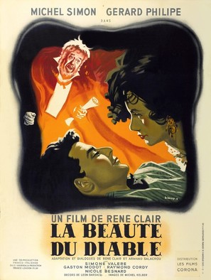 La beautè du diable - French Movie Poster (thumbnail)