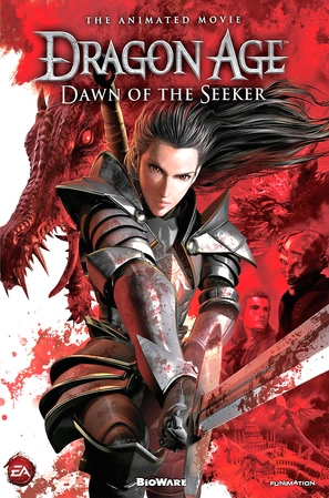 Dragon Age: Dawn of the Seeker - DVD cover (thumbnail)