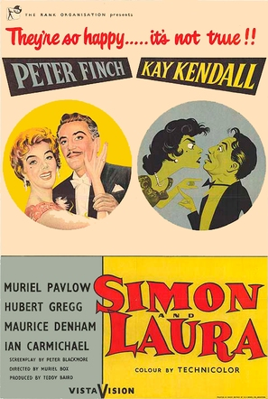 Simon and Laura - Movie Poster (thumbnail)