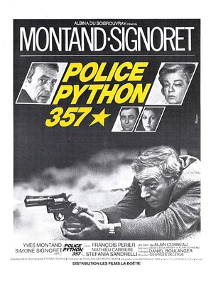Police Python 357 - French Movie Poster (thumbnail)