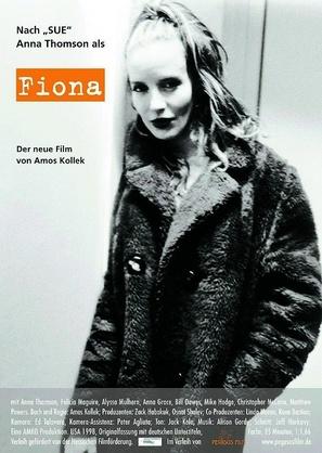 Fiona - German Movie Poster (thumbnail)
