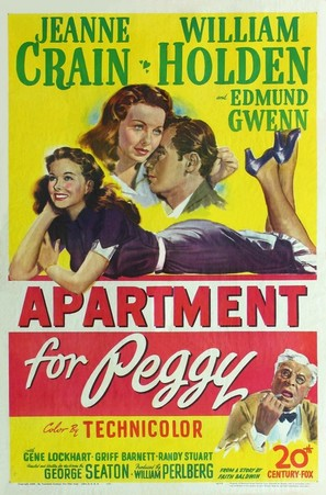 Apartment for Peggy - Movie Poster (thumbnail)
