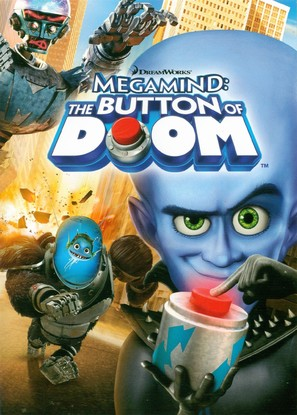Megamind: The Button of Doom - DVD movie cover (thumbnail)