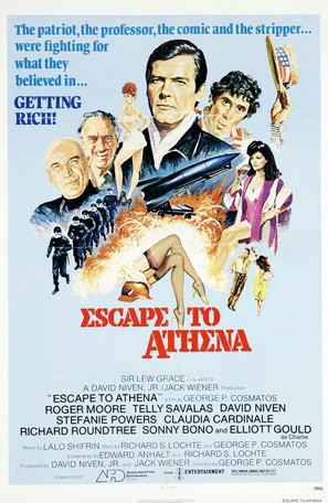 Escape to Athena - Movie Poster (thumbnail)
