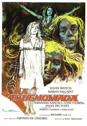 La endemoniada - Spanish Movie Poster (thumbnail)