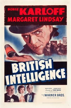 British Intelligence - Movie Poster (thumbnail)