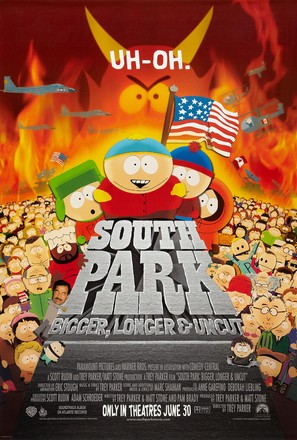 South Park: Bigger Longer & Uncut - Advance movie poster (thumbnail)