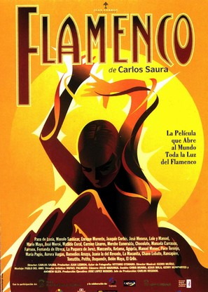 Flamenco - Spanish Movie Poster (thumbnail)
