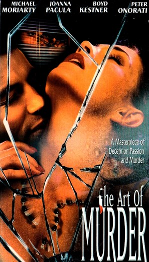 The Art of Murder - VHS movie cover (thumbnail)