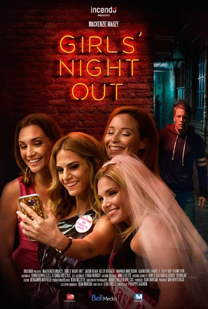 Girls Night Out - Canadian Movie Poster (thumbnail)